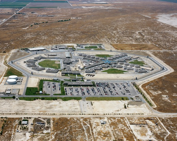 North Kern State Prison (NKSP) – Light in prison on