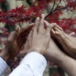 Hands in unison